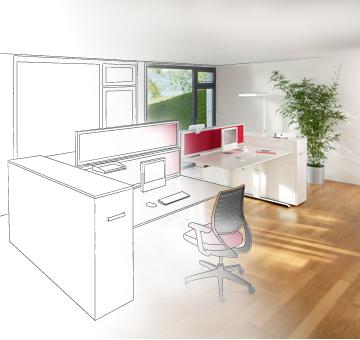 A4 am nageur d 39 environnement de travail bureau et espace collectif s - Amenagement d espace de travail ...